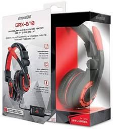Fone De Ouvido Headset Dreamgear Grx-670 Gaming Preto Novo