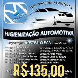 Higienização Interna Automotiva em Guarulhos