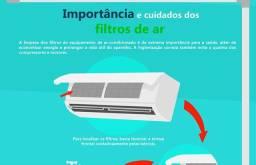 Higienização de ar condicionado 90