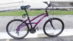 Bicicleta Caloi 500 Roxa