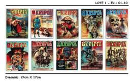 Revistas Kripta - Coleção Completa