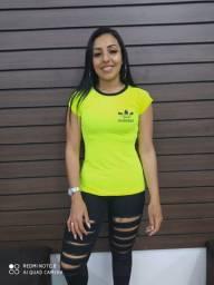 Camisetas femininas Dry-fit - Variedade em tamanhos e cores - Somente R$19,90
