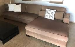 Sofá com chaise.. 3,20 mts