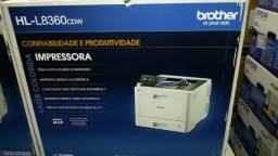 Impressora Laser Brother HL-L8360 Nova na Caixa