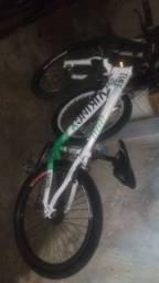 bike vikingx tuff branca/verde shimano!!