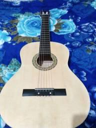 Violão Harmonics modelo GC-10-NT em excelente estado.