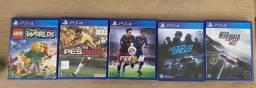 5 jogos de ps4