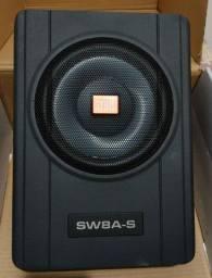 Caixa de Som Amplificada Slim JBL sw8a-s