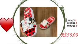 Vendo lindas sandália melissas pronta entrega..