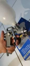Pistola de pintura de alta pressão
