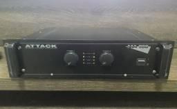 Potência Attack MA 980 Mark Áudio- 520 watts RMS