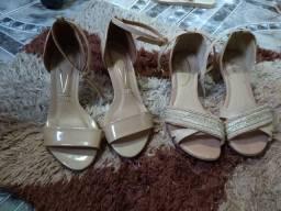 Lote sandálias