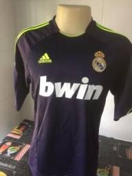 Camisa do Real Madrid - Tam M - Original - 110 anos