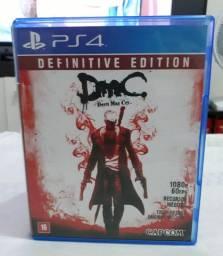 Vendo ou troco DMC Devil May Cry Definitive Edition (ps4)