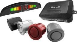 Sensor de Estacionamento 4 Pontos Display LED Colorido Universal
