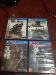 Vendo jogos PS4 50 cada