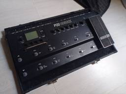 Pedaleira LINE 6 - POD HD500X com Hardcas