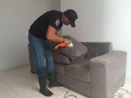 Lava sofa a seco em geral 79,90 reais