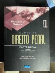 Livro de direito penal parte geral Rogério greco