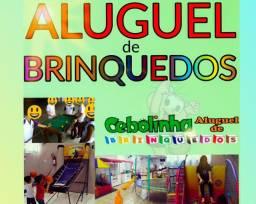 ALUGUEL DE BRINQUEDOS