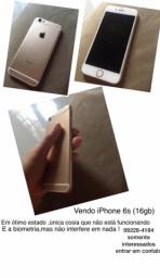 Vendo iPhone 6s por 650