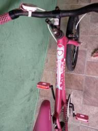 Bicicleta aro 20 rosa