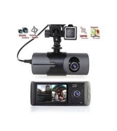 Camera veicular interna e externa com GPS. Nova