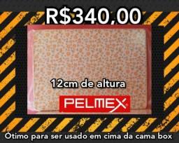 Colchão Pelmex casal D20 1.38x1.88x12cm