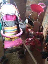 2 carrinho de bebês