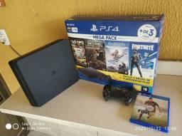 PS4 SLIM DE 1tb e THE LAST OF US 2