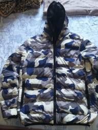 Jaqueta masculina acolchoada Krayani