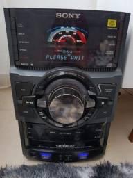 Mini System Sony Genezi Mhc GTR 88 1200w Rms