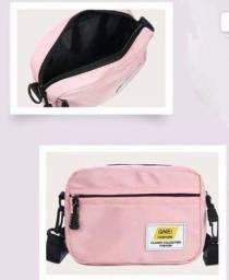Bolsa pochete rosa
