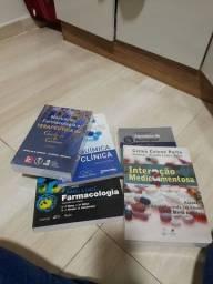 Livros farmacologia.