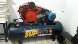 Compressor SUPER PRESSÃO semi novo