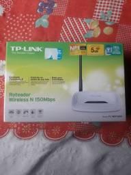 Roteador Tp-Link 150 Mbps SEMI NOVO NA CAIXA