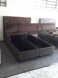 Título do anúncio: Cama box baú e colchão preço de fábrica