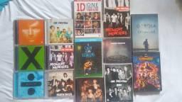 CDs e DVDs diversos
