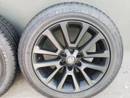 Jogo de Rodas Toyota Hilux / S10 Aro 20 6 Furos