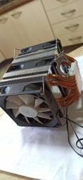 Air Cooler com 6 heatpipes e 3 fan 80mm