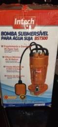 Bomba Submersível Água Suja BST500 3 semanas de uso.