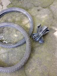 2  pneus  aro  2o