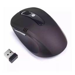 Mouse Sem Fio Notebook Pc 1200 Dpi Wireless Alcance 10m