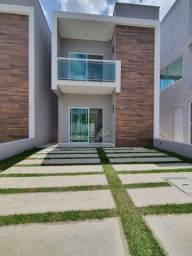Título do anúncio: Sobrado com 3 dormitórios à venda, 100 m² por R$ 320.000,00 - Parque Havaí - Eusébio/CE