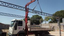 Caminhão ford cargo com munk 3000kl