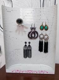 Porta Brincos e Bijoux de Metal -  Marca Imaginarium