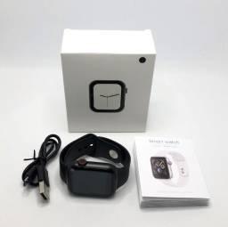 Relógio Smartwatch Inteligente W34 Preto Tamanho 44mm Bluetooth Novo na Caixa