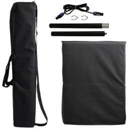 Caixa de Som - Sistema De PA Portátil Ativo OMNE800 - SoundBox
