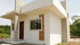 Casa nova 2 Qts em Bacaxá, Aceita Financiamento