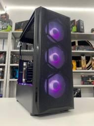 Pc Gamer ? Intel i3 10100F + RX 550 4GB - Em Até 18x - Aceitamos Senff/ Garantia